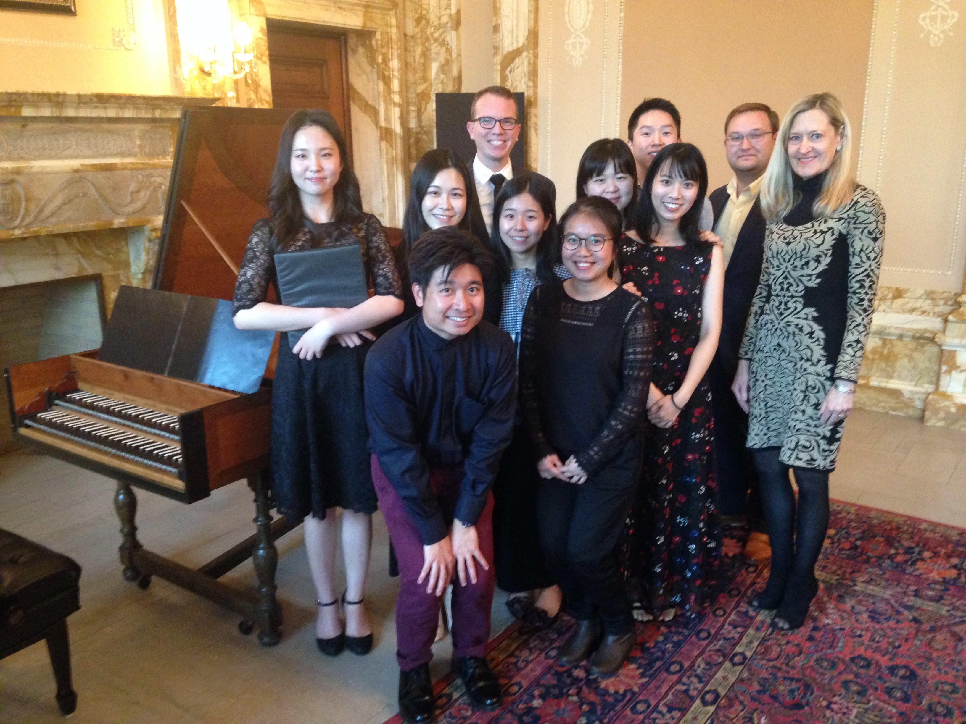 harpsichord students