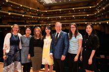 Flutists at National Flute Convention